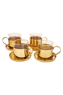 Exquisite Gold Cup (Set of 4) by The House of Artisans