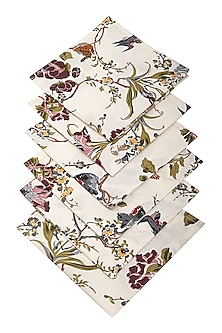 Brown Nest Napkins (Set Of 6) by The House of Artisans