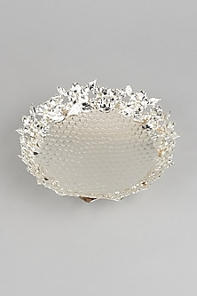 Silver Platters In German Silver (Set of 2) by Dune Homes-POPULAR PRODUCTS AT STORE