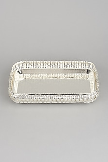 Silver Glass Tray by Dune Homes-POPULAR PRODUCTS AT STORE