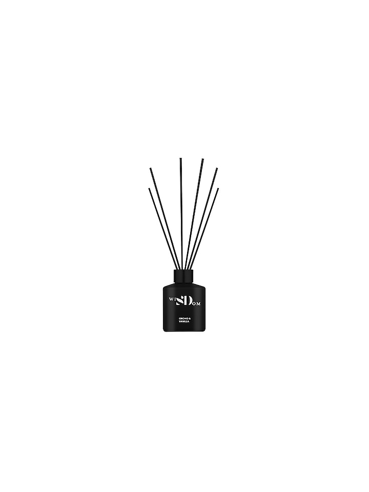 Orchid & Vanilla Luxury Scented Reed Diffuser by Wisdom By Sheetal Desai