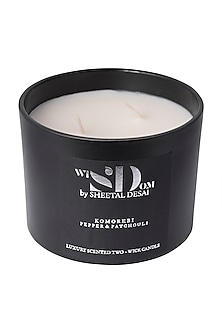 Pepper & Patchouli Candle by Wisdom By Sheetal Desai