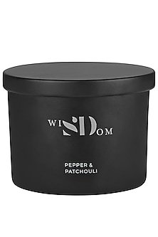Pepper & Patchouli Aromatic Candle by wiSDom by Sheetal Desai