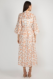 White Printed Tunic by Ease