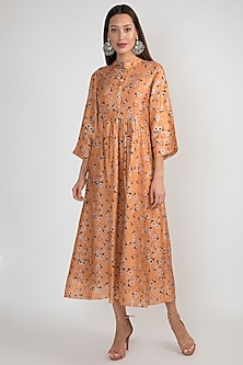 Peach Printed Tunic by Ease