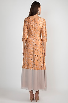 Peach Printed Tie-Up Tunic by Ease