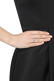 Silver Plated 'Maktub' Ring by Eina Ahluwalia