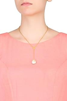 Path Of Venus Baroque Pearl Necklace by Eina Ahluwalia