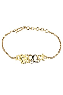 Respect Bracelet by Eina Ahluwalia