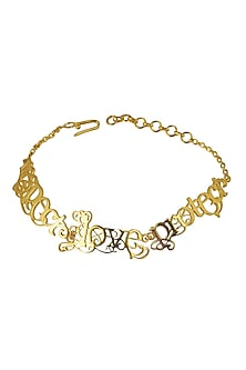 Love Respect Protect Bracelet by Eina Ahluwalia