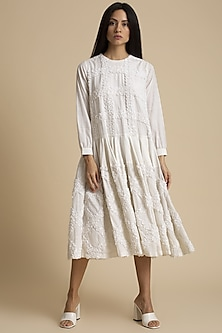 Salt Paani Embroidery Dress by Kanelle