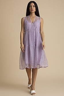 Orchid Dress With Dori Detailing by Kanelle