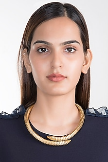 Gold Plated Naag Necklace by House of Esa