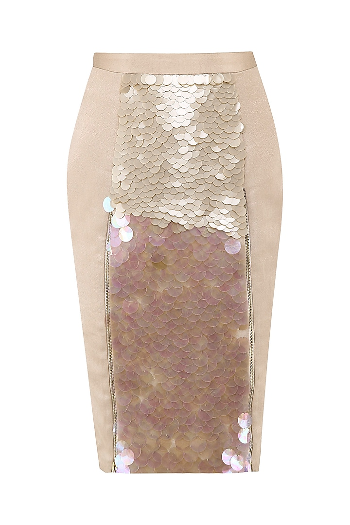 Blush Pink Pencil Skirt by Esse