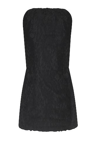 Black Lace Corset Tube Top by Esse Vie