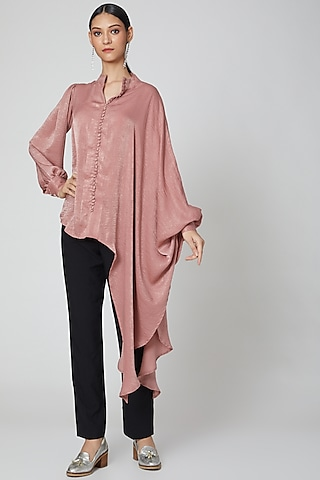 Blush Pink Flow Top by Etre