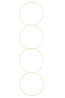 Gold Finish Detachable Circular Neckpiece by Eurumme Jewellery
