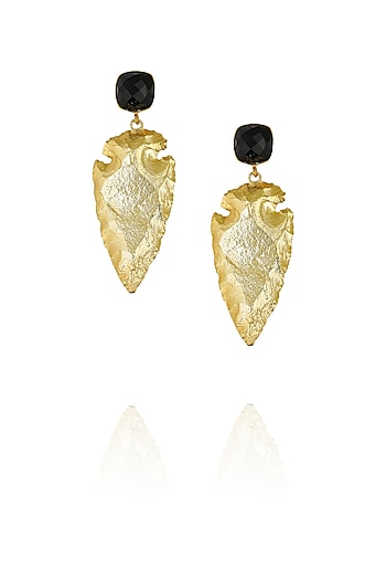 Black eurumme signature earrings by Eurumme Jewellery