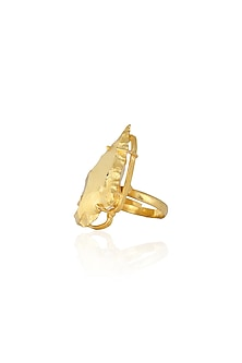 Gold Xena Ring by Eurumme Jewellery