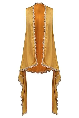 Gold Naya Cape Jacket by Fancy Pants