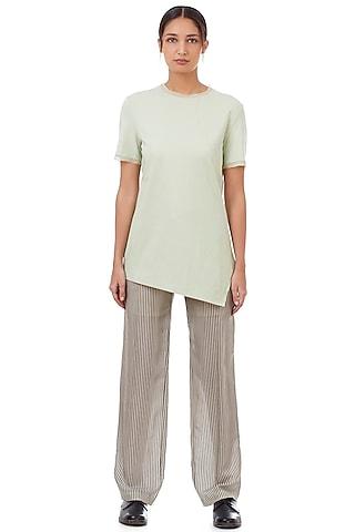 Mint Jersey T-Shirt by Genes Lecoanet Hemant
