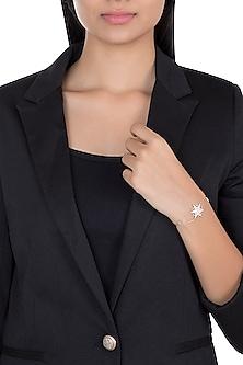 14Kt Rose Gold Grand Star Diamond Bracelet by Golden Gazelle Fine Jewellery