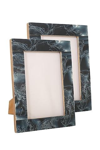 Midnight Blue Photo Frame by Happier Homes