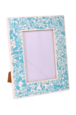 Resin Green Photo Frame by Happier Homes