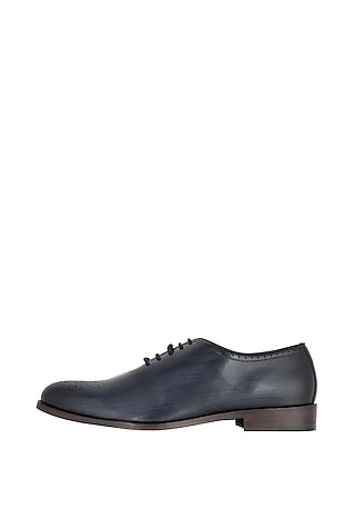 Ash Hand Painted Oxford Shoes by Harper Woods