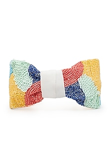 Multi Colored Embroidered Headband by Hair Drama Company