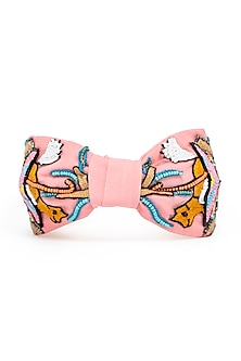 Multi Colored Beads Embroidered Headband by Hair Drama Company