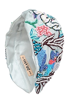 Multi Colored Knotted Headband by Hair Drama Company