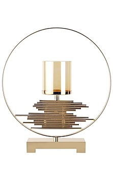 Golden Luxurious Sierra Candleholder by H2H