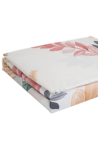 Multicolored Printed Bedsheet Set by H2H