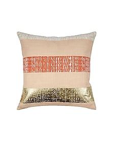 Multicolor Cotton Bellagio Cushion Cover  by H2H