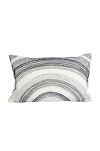 Multicolor Cotton Earth Rise Cushion Cover  by H2H