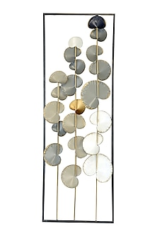 Multicolor Iron Ash Forest Wall Decor by H2H