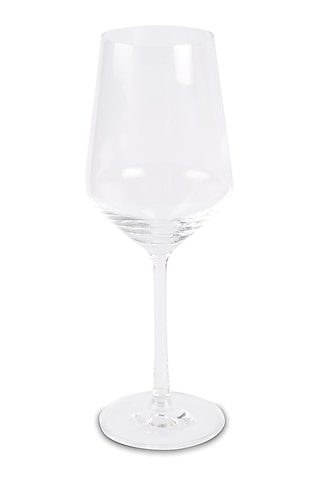 Clear Crystal Wine Glasses (Set of 2) by H2H
