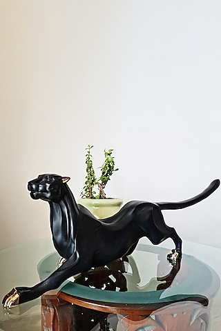 Black Fiber Sculpture by H2H