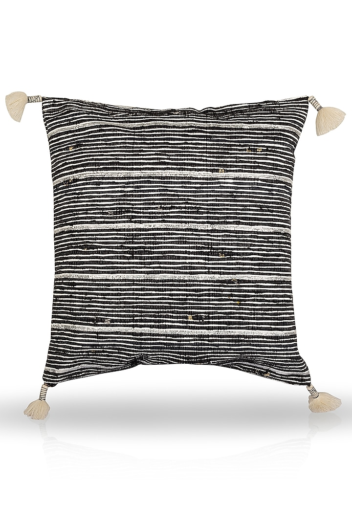 Black Cushion Cover by H2H