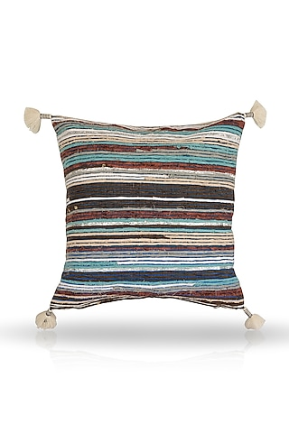 Multi Colored Cushion Cover by H2H
