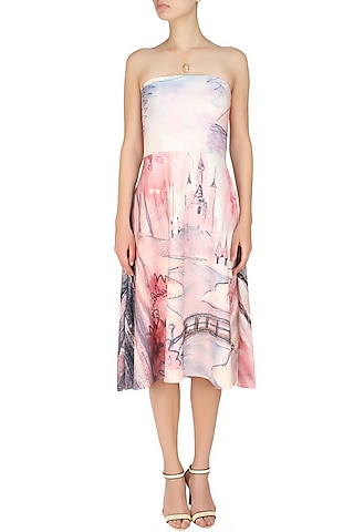 Digital print fairy fantasy dress by Hema Kaul