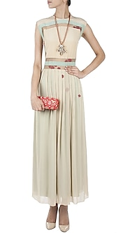 Beige Maxi Dress by Huemn