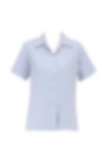 Blue Safari Button Down Shirt by Huemn Project