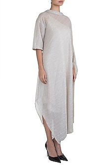 Beige Silhouette Turtle Dress With Inner by House of Milk