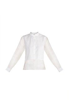 White Button Down Shirt by House of Sohn
