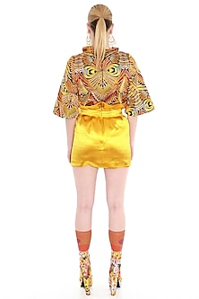 Multi Colored Embroidered Top by Manish Arora