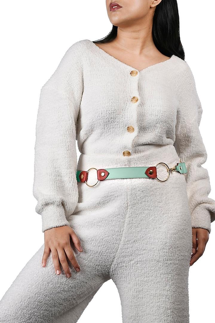 Multi Colored Reversible Waist Belt by Immri