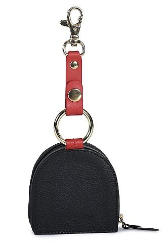 Black & Red Handcrafted Earpod Case by Immri