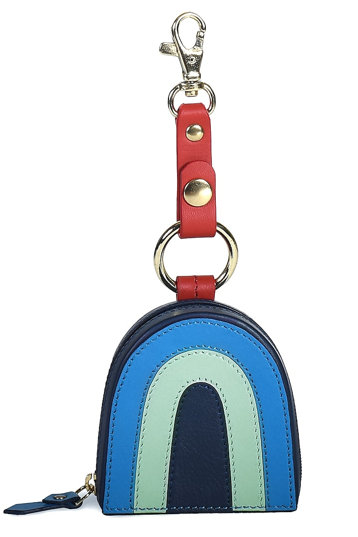 Blue Handcrafted Evil Eye Earpod Case by Immri